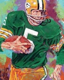 Painting by Robert Hurst. www.ADamnFineArtist.com