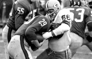 Ray Nitschke and Alex Webster Square Off