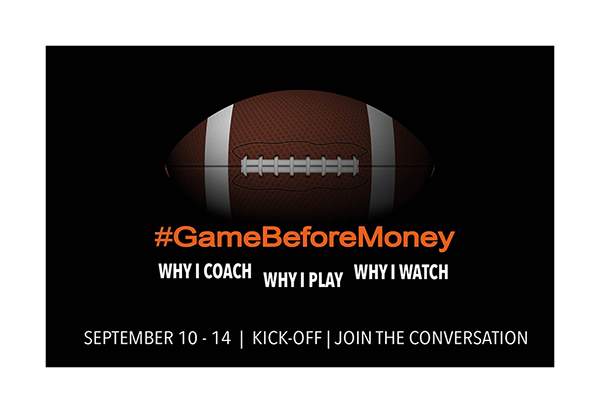 #GameBeforeMoney #NFLKickoff