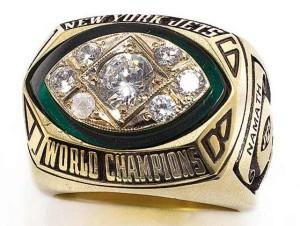 Super Bowl III Ring