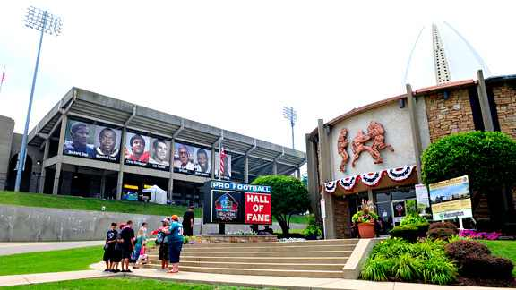 A Brief History of: The Pro Football Hall of Fame
