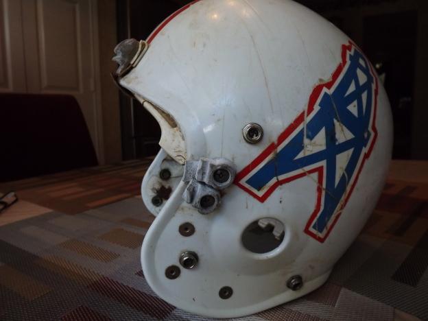 Bethea's Oilers helmet