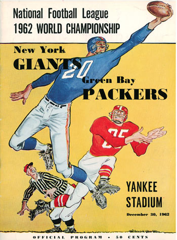 Classic NFL Games — 1962 NFL Championship — First Half